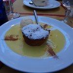 Apple Pie Dessert w/ Ice Cream