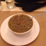 Lentil soup, a good reminder that is a stew and not a sup but taste good