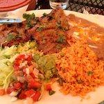 lunch at El Azteca