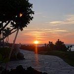 Beautiful sunsets every night.