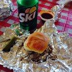 Pulled pork and ski