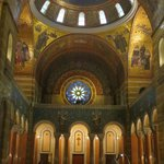Cathedral Basilica - looking from the altar to the main entry