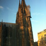 World famous Cologne Cathedral right from room
