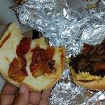 The little bacon cheeseburger $5.99