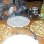 Pizzas del local en Villarrica
