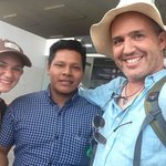 Us and Chachi, our guide