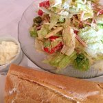 1905 salad is a must try! and Cuban bread on the side