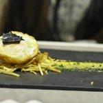 Black truffle egg