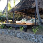 Beach Bure with Day Bed, facing the bay