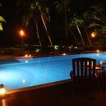 Serenity Pool by night