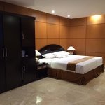 New room at 2nd floor... comfortable bed