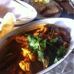 Mariner's Wharf seafood curry