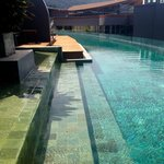 double pool honeymoon suite