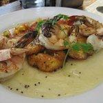 Shrimp & Plantains