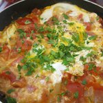 My shakshuka up close