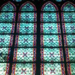 Inside - Stained glass windows are beautiful