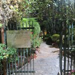 The gates to Ticho House