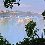 Victoria Falls sunset scenery