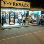 V-versace tailor shop lamai beach. Koh samui