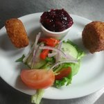 Breaded Camembert Rounds