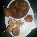 Homemade Meatballs in Rich Onion Jus (Main portion)