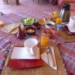 Breakfast - Riad Ker Saada