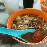 Penang prawn mee in Pulau Tikus RM3.50 per bowl