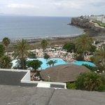 Vista piscina principal