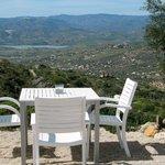 Dineren met zicht op meer van Vinuela