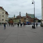 Warsaw Old Town less than half a mile away from hotel