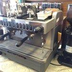 Fully operational coffee bar