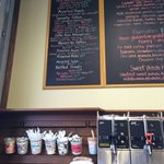 Stuey's offers a variety of brews and specialty coffee drinks