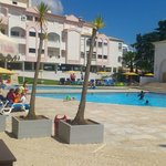 Pool near main hotel