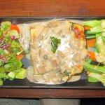 Taste Platter - Spinach Pie, Baked Potato Tortilla, Steamed Vegetable Salad