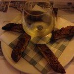Cantuccini with zibibbo (desser wine from sicilia)