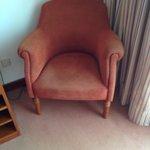sofa de la habitación
