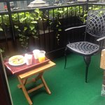 Breakfast on Terrace of Room 1106