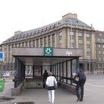 プラハ6  最寄りの地下鉄駅