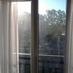 Nicht Nebel sondern dreckige Fenster