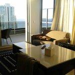 Living room plus Balcony