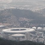 View of Rio and the awesome Maracana