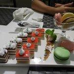 Dessert platter - ok, not fresh