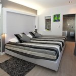 City View Delux Double or Twin room with Spa Bath Corner, jacuzzi tub for 2,Lightning&Sound Ther