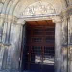 front door of cathedral