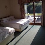 Lodge 1 - one of the bedrooms