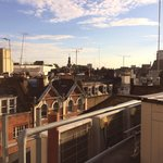 View from The Roof Terrace!