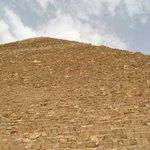 at Cheope Pyramids panoramic view all around