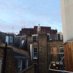 View to the rooftops of Soho
