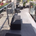 Rooftop Terrace - never saw anyone else up here - ooooh! Our own private roof terrace! Ha ha