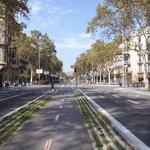 Bike infrastructure in Barça